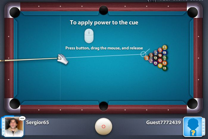 Play 8 ball pool multiplayer an multiplayer game free online in this