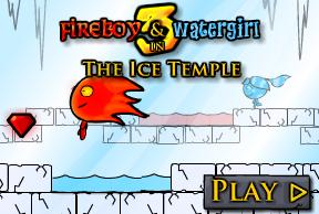 Puzzle games online: Ice Temple
